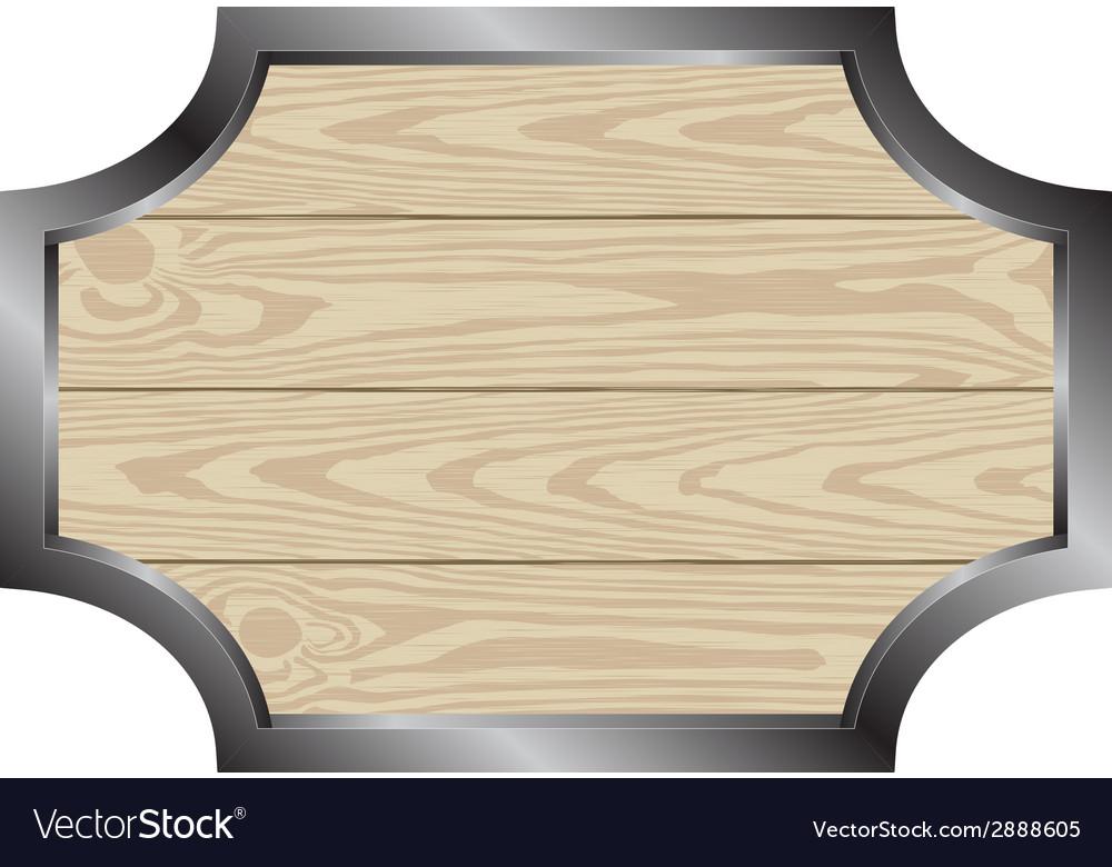 Wooden board vector | Price: 1 Credit (USD $1)