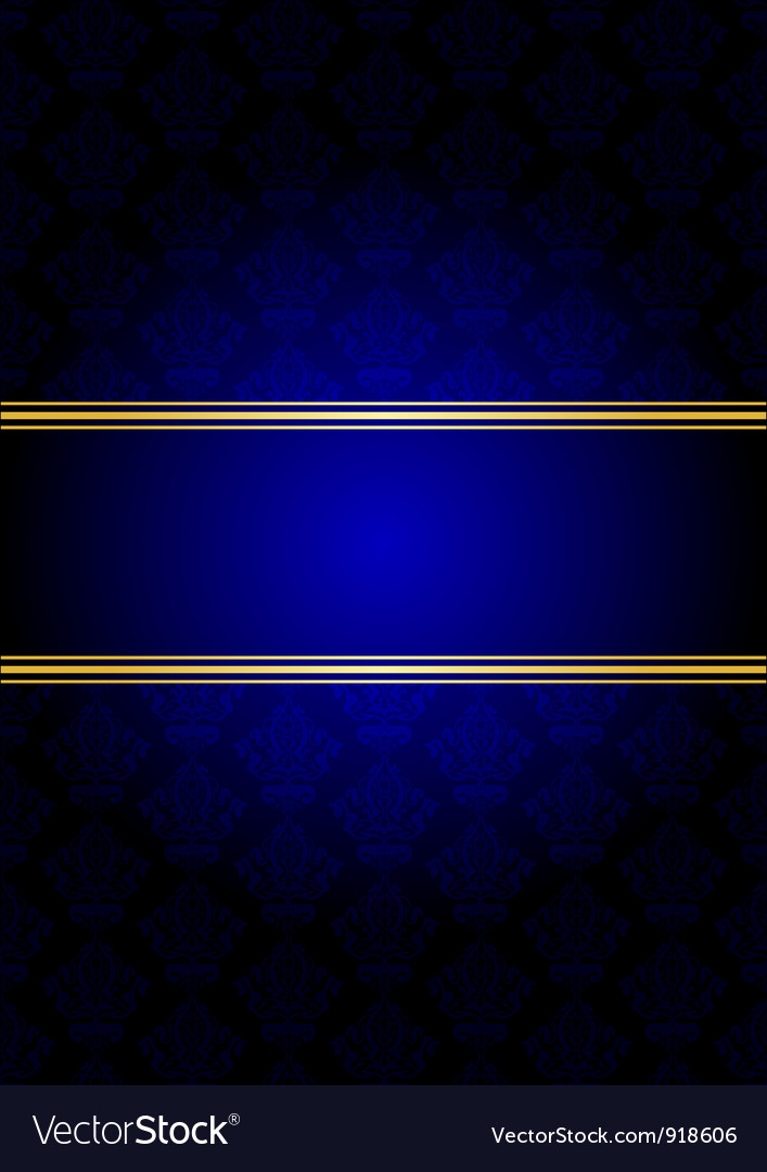 Blue and gold background vector | Price: 1 Credit (USD $1)