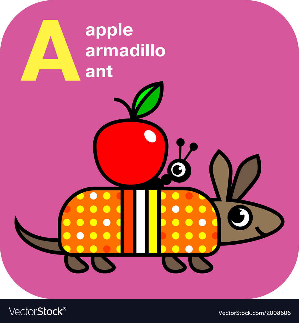 Cute alphabet vector | Price: 1 Credit (USD $1)