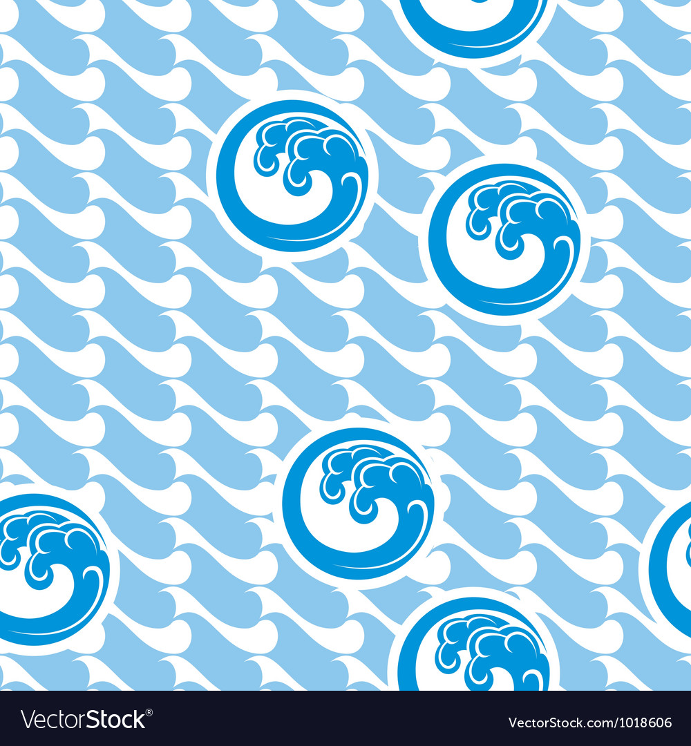 Japan marine background vector | Price: 1 Credit (USD $1)