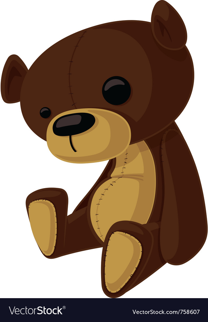 Teddy bear vector | Price: 3 Credit (USD $3)