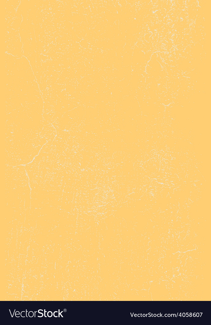 Yellow cracked plaster texture vector | Price: 1 Credit (USD $1)