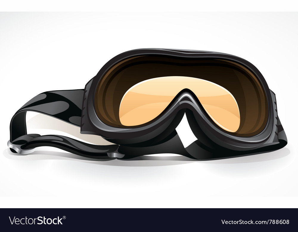 Black scuba or ski mask vector | Price: 3 Credit (USD $3)