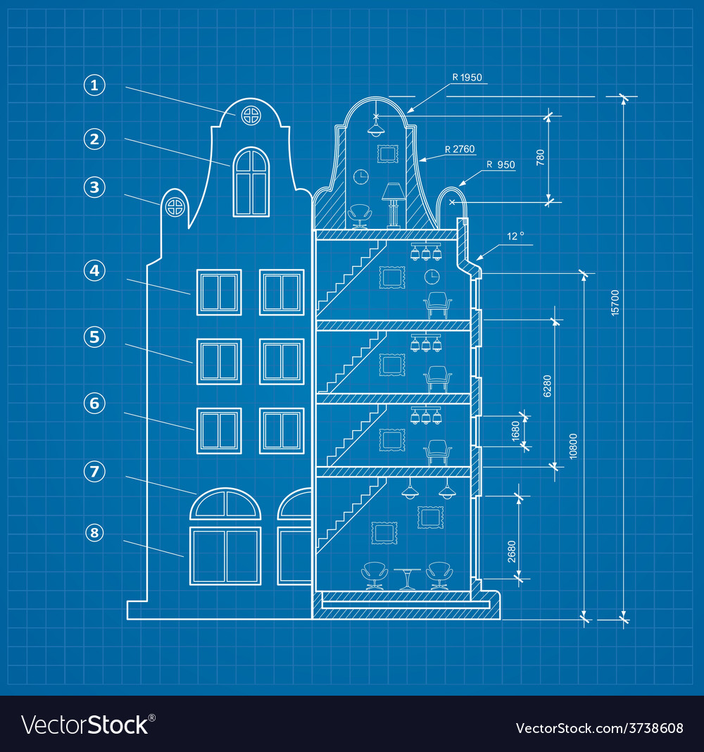 Blueprint facility vector | Price: 1 Credit (USD $1)