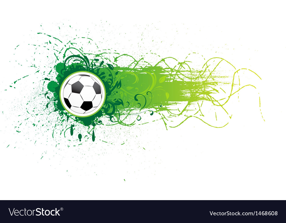 Football banner vector | Price: 1 Credit (USD $1)