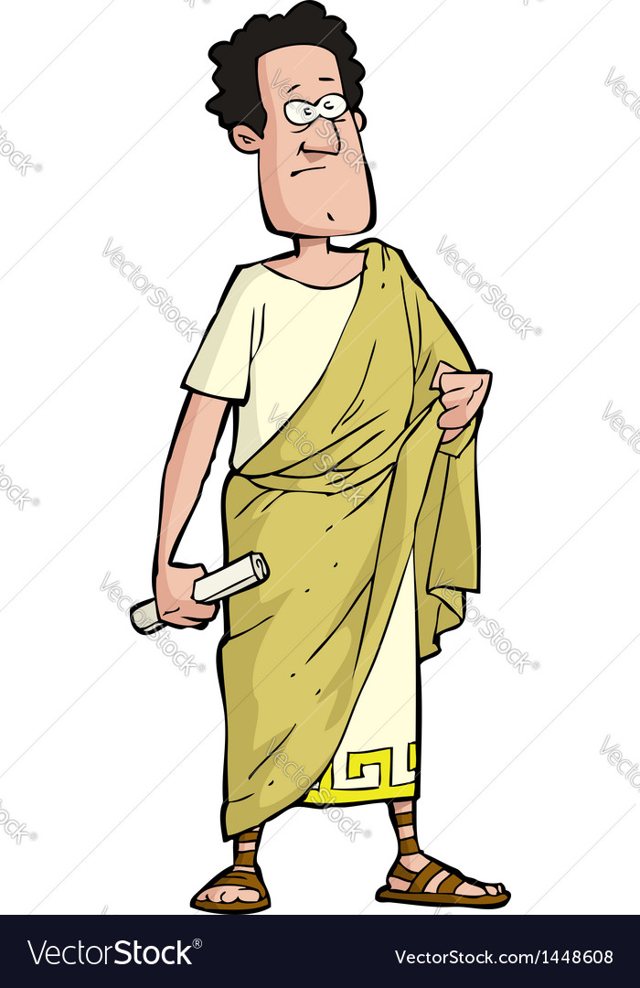 Roman senator vector | Price: 1 Credit (USD $1)