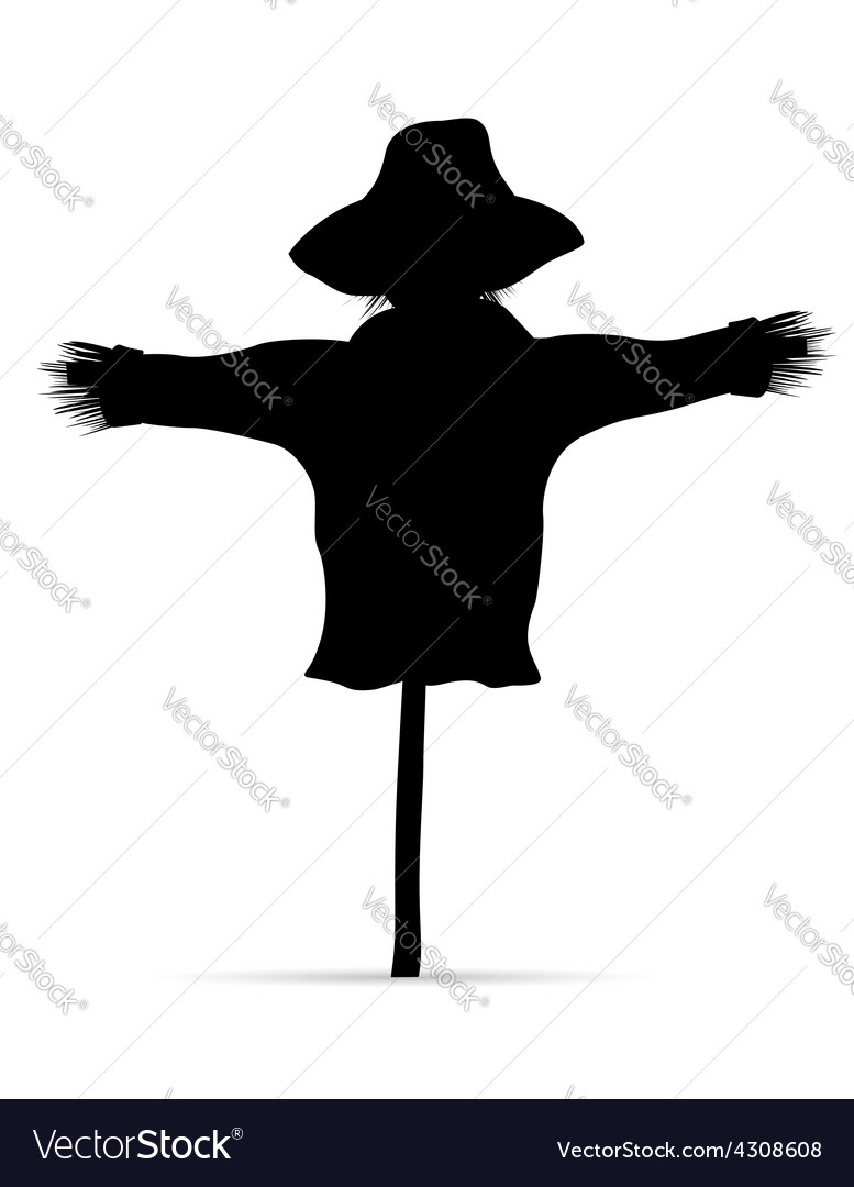 Scarecrow 03 vector | Price: 1 Credit (USD $1)