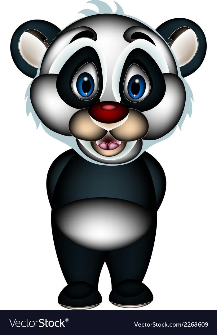 Cute cartoon panda vector | Price: 1 Credit (USD $1)
