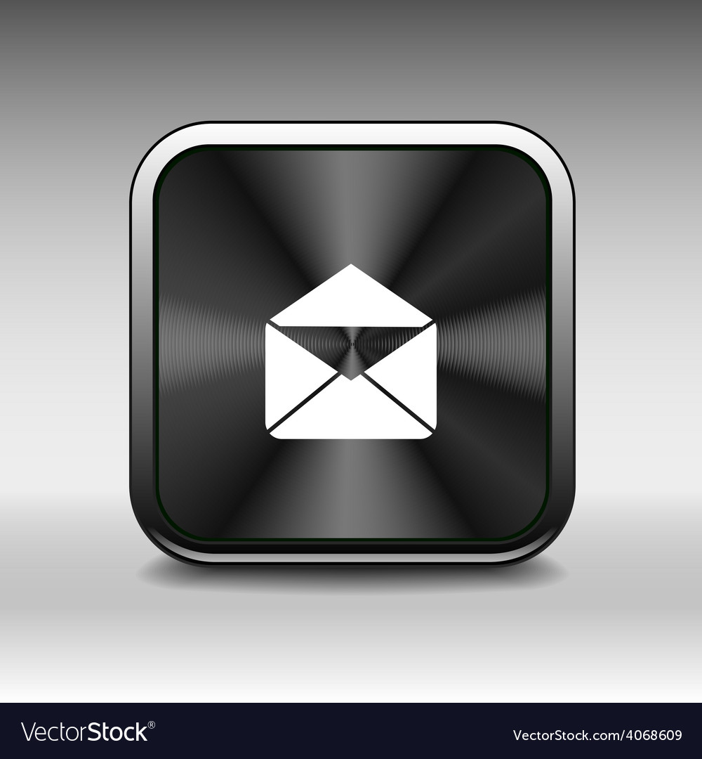Envelope mail icon letter post email envelope vector | Price: 1 Credit (USD $1)
