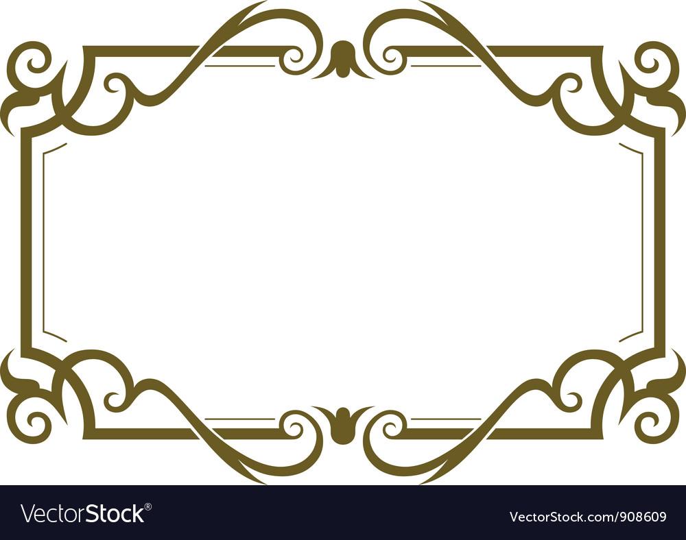 Frame design vector | Price: 1 Credit (USD $1)