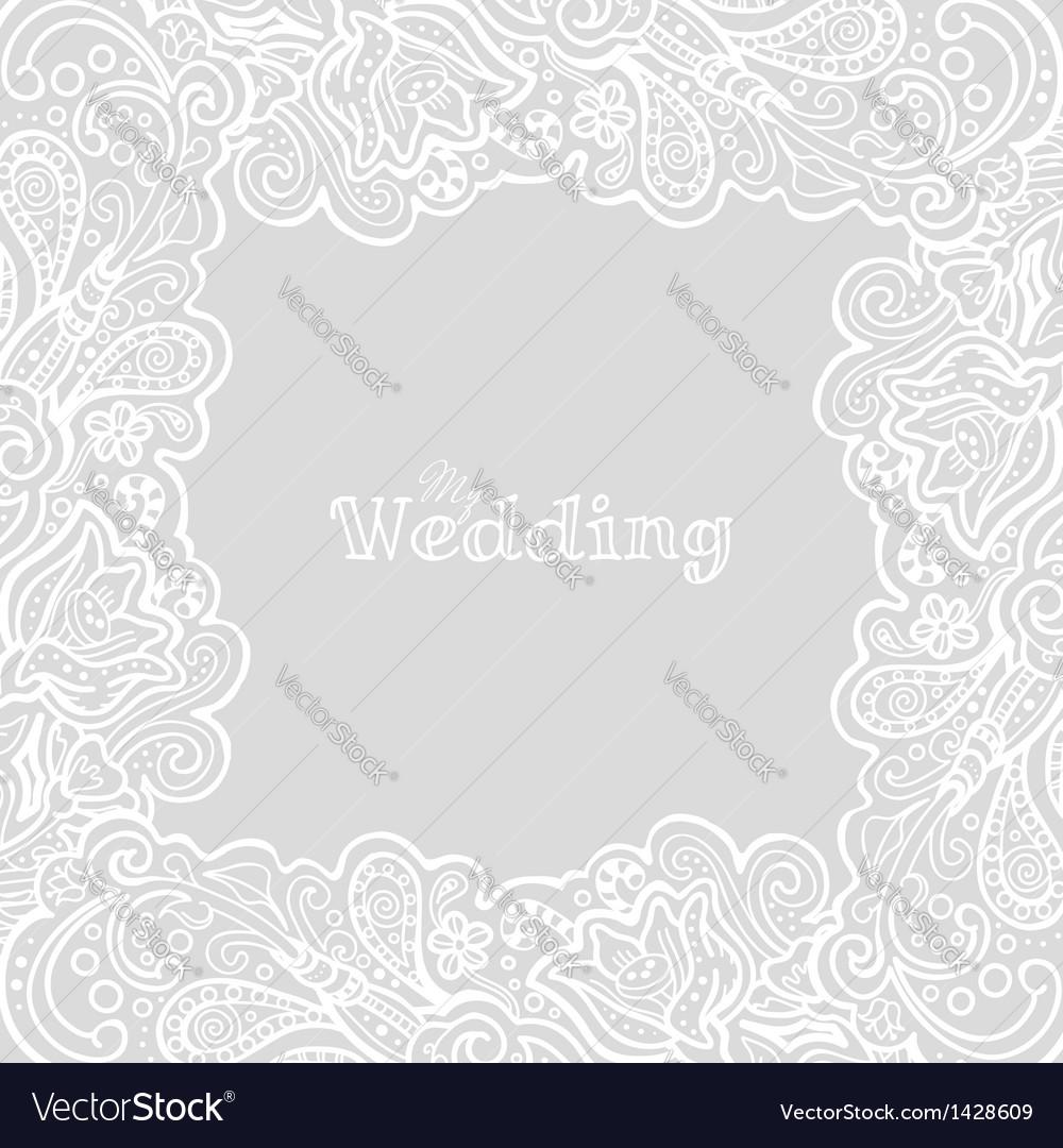 My wedding card vector | Price: 1 Credit (USD $1)