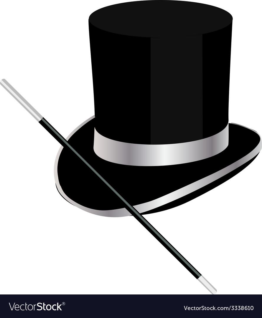 Magic hat vector | Price: 1 Credit (USD $1)