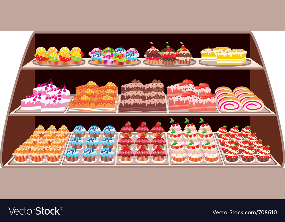 Sweet shop vector | Price: 1 Credit (USD $1)