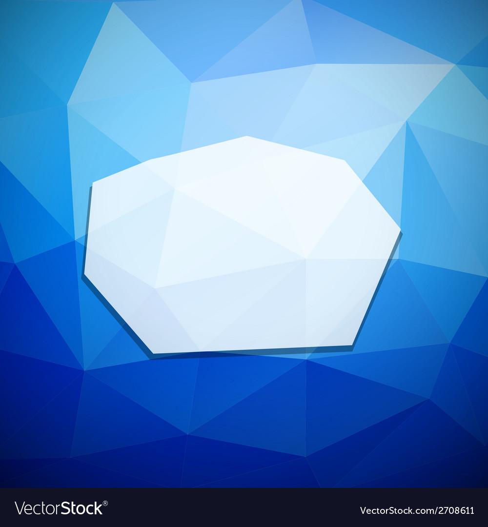 Geometric frame vector | Price: 1 Credit (USD $1)