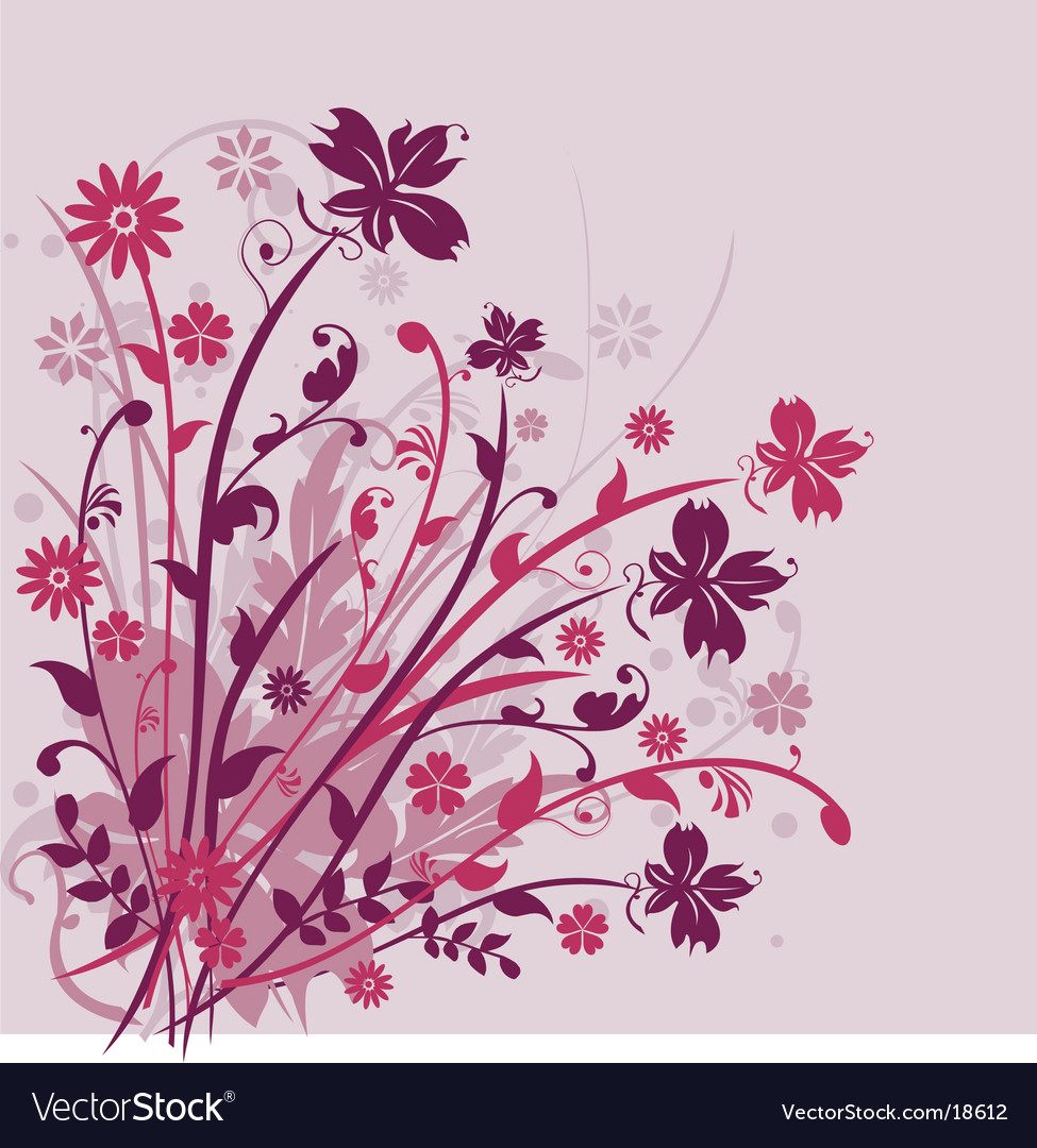 Floral arrangement design vector | Price: 1 Credit (USD $1)