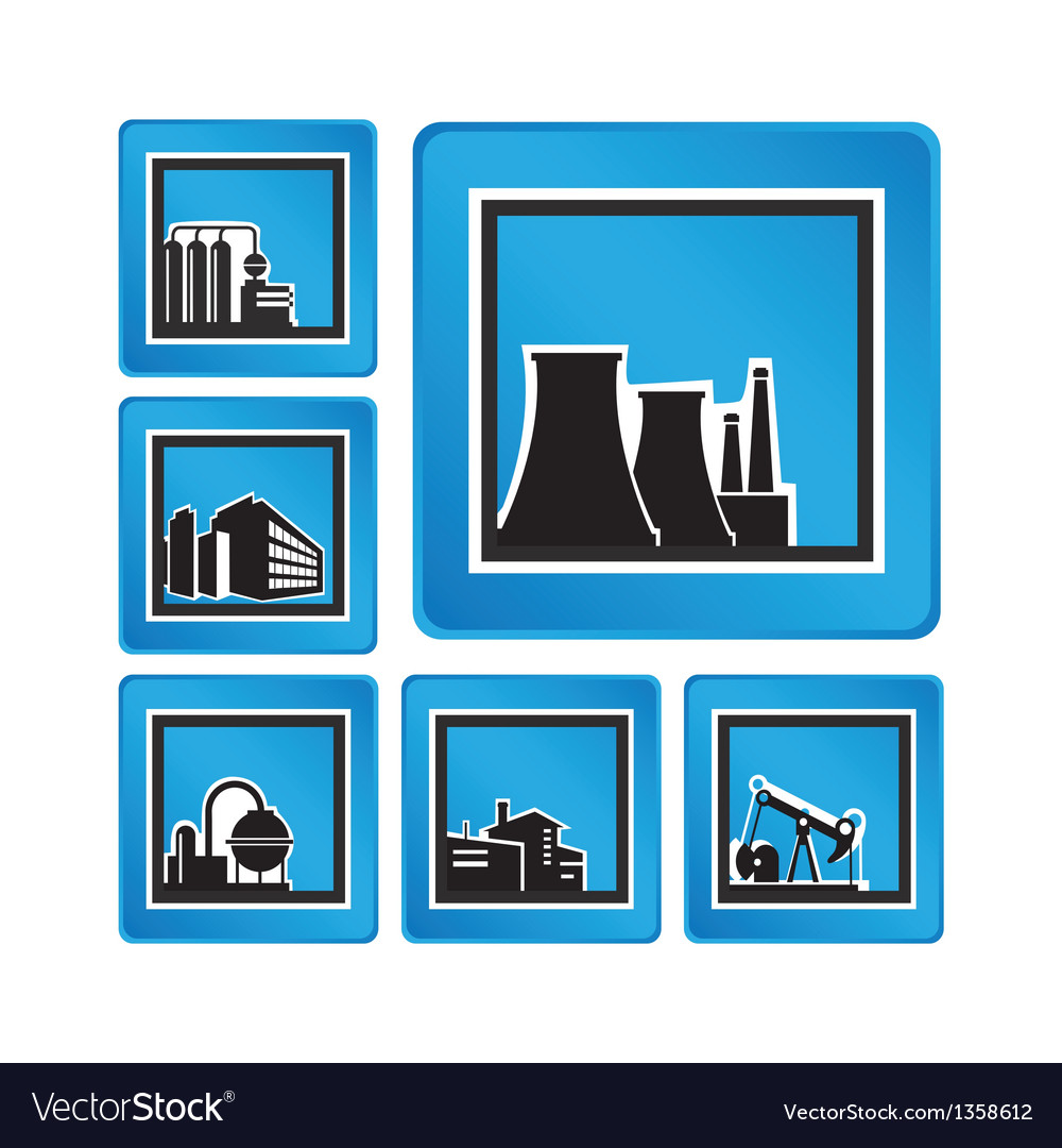 Industrial objects vector | Price: 1 Credit (USD $1)