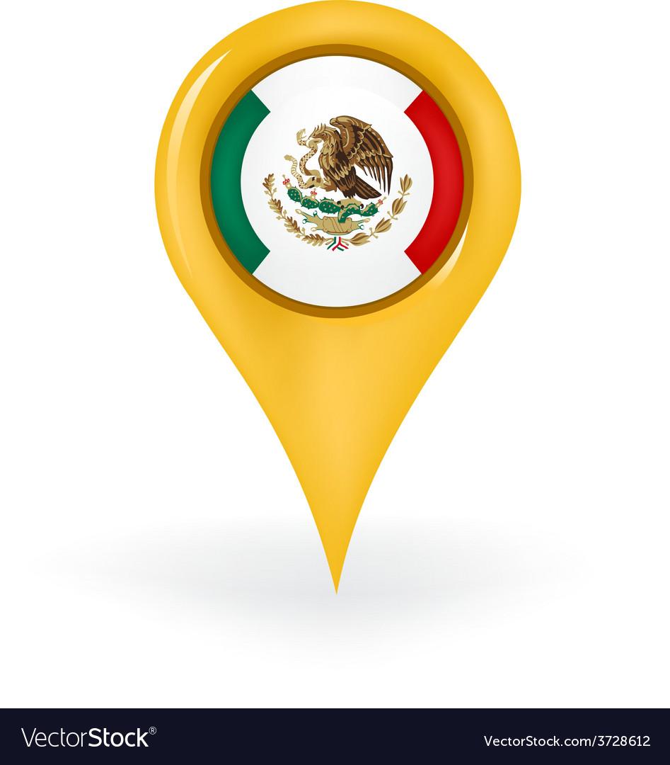 Location mexico vector | Price: 1 Credit (USD $1)