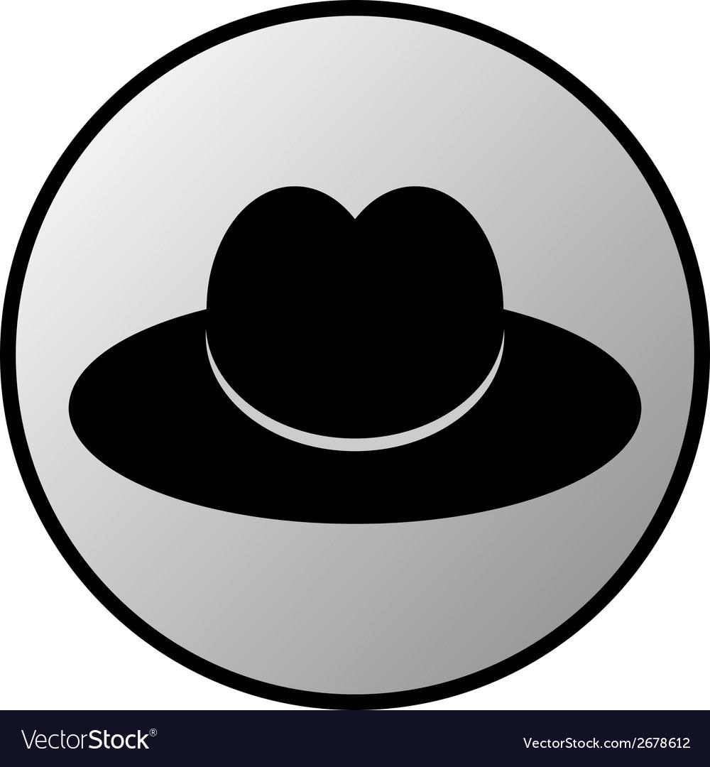 Male restroom symbol button vector   Price: 1 Credit (USD $1)