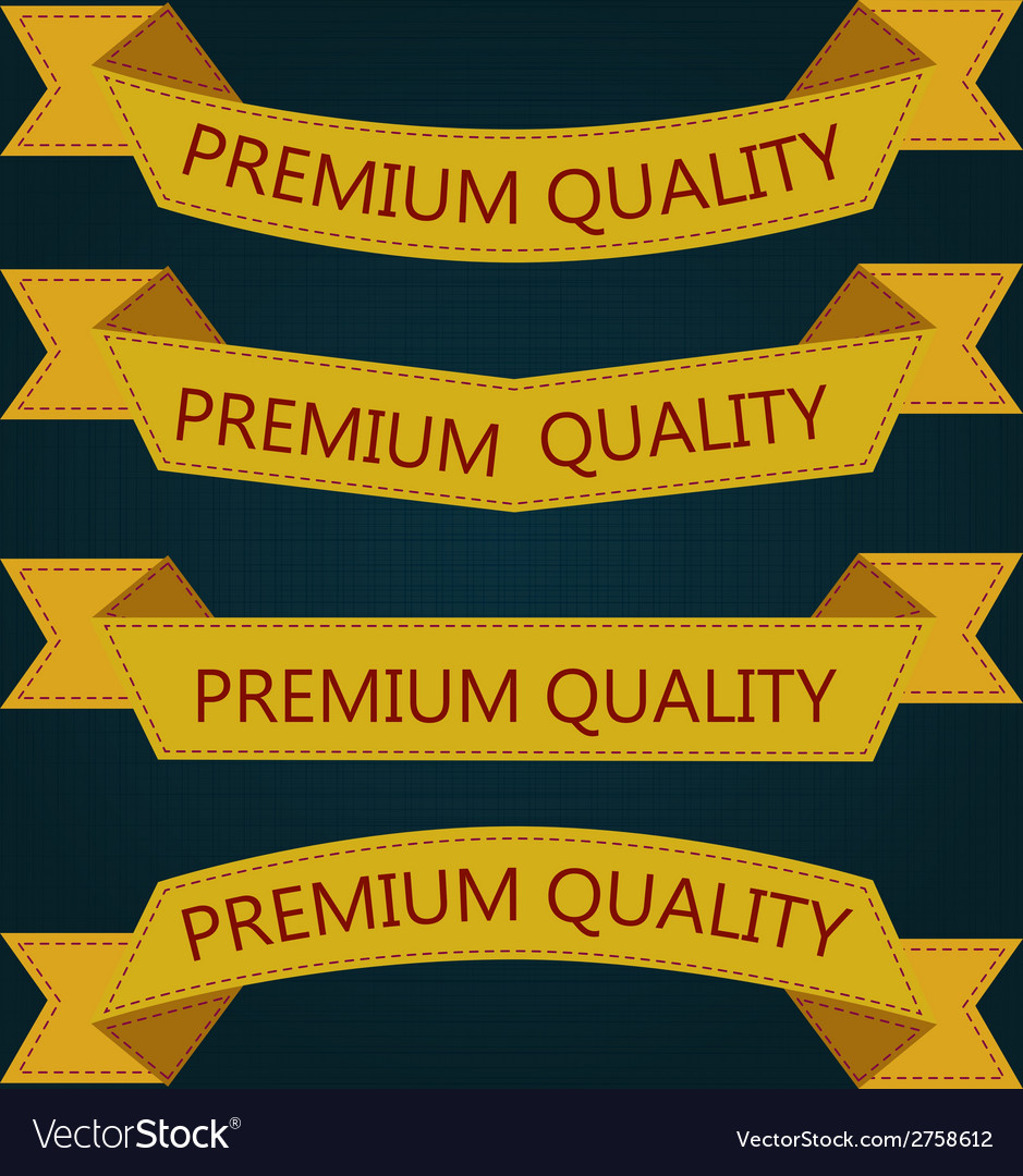 Set of retro ribbons and labels vector   Price: 1 Credit (USD $1)
