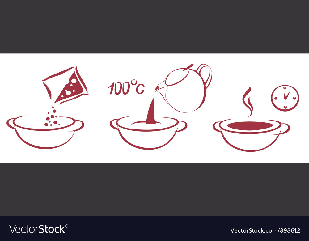 Soup schema vector | Price: 1 Credit (USD $1)