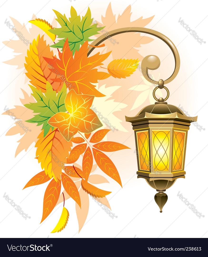 Street lantern vector | Price: 1 Credit (USD $1)