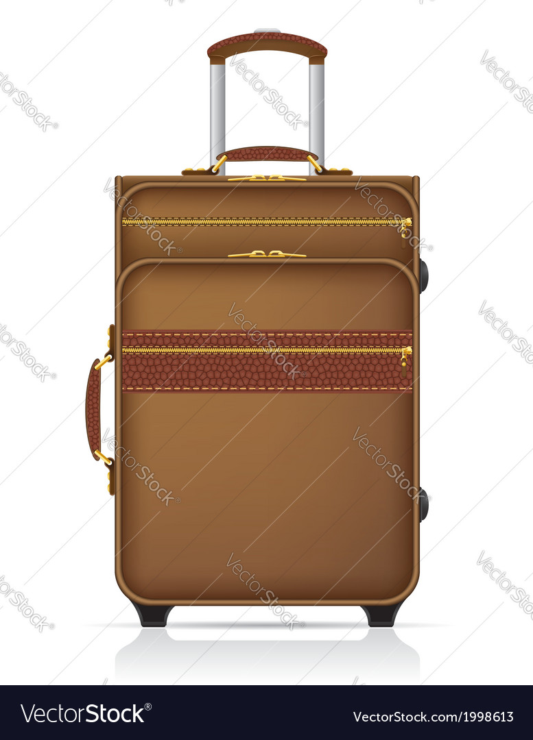 Suitcase for travel vector | Price: 1 Credit (USD $1)