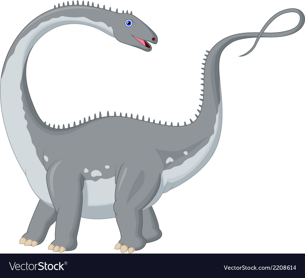 Dinosaur cartoon vector | Price: 1 Credit (USD $1)