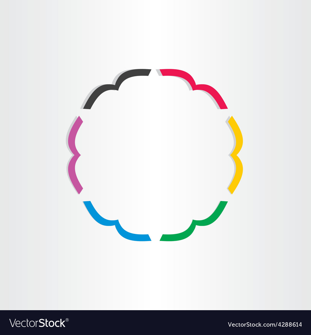 Office books in circle icon vector | Price: 1 Credit (USD $1)