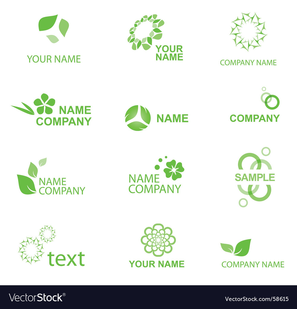 Eco logo vector | Price: 1 Credit (USD $1)
