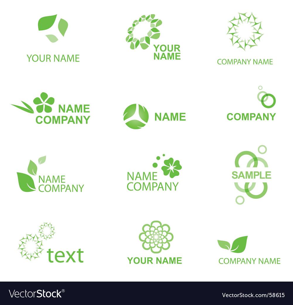 Eco logo vector | Price: 1 Credit (USD $1)
