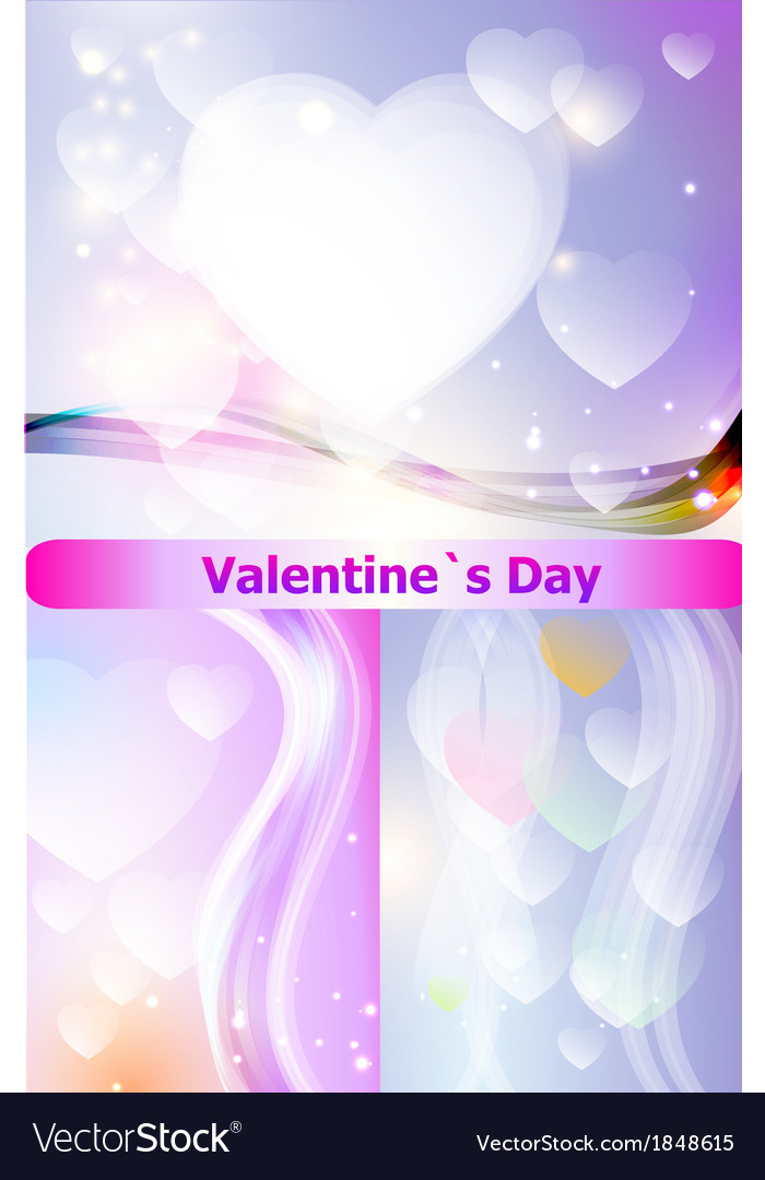 Happy valentines day and weeding cards vector | Price: 1 Credit (USD $1)