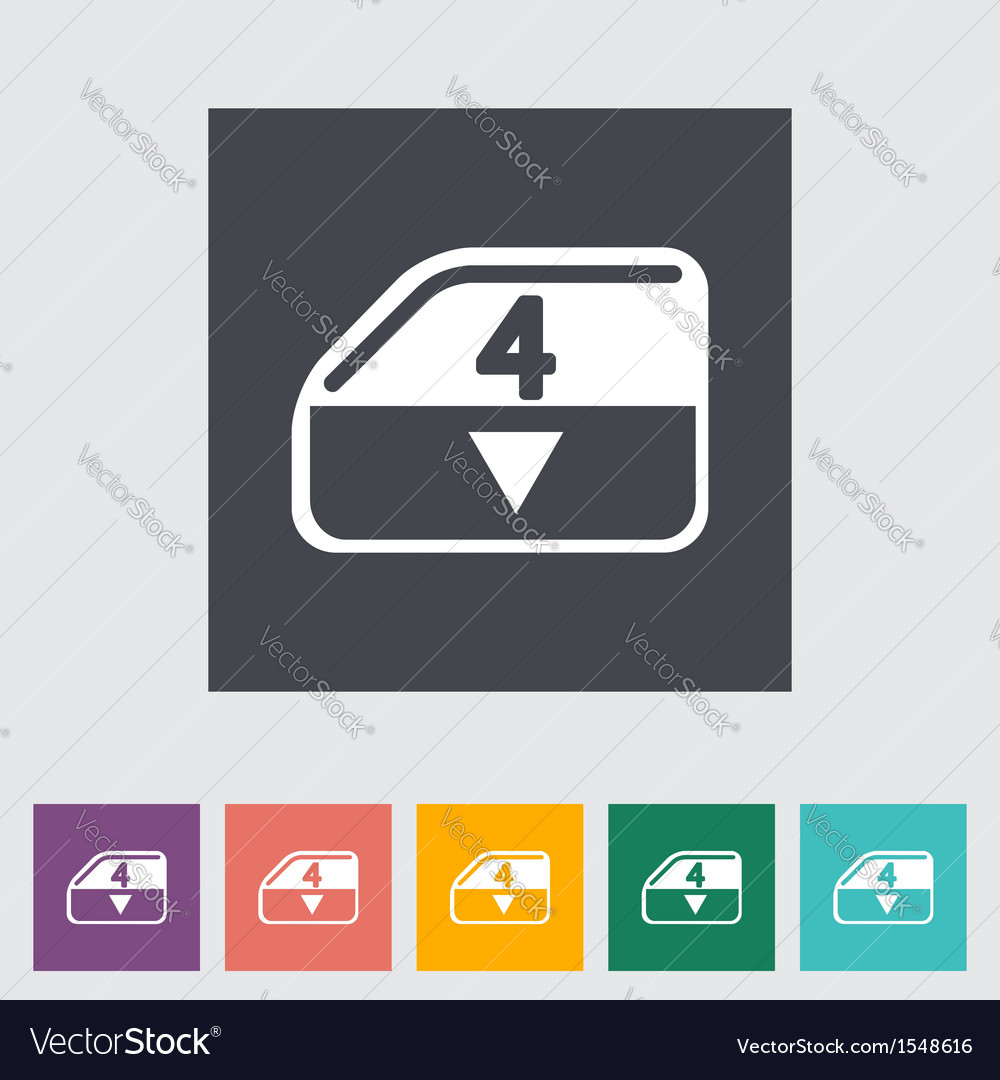 Convertible window vector | Price: 1 Credit (USD $1)