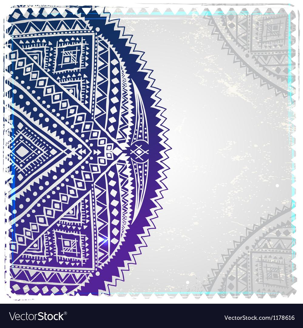 Ethnic ornament vector   Price: 1 Credit (USD $1)