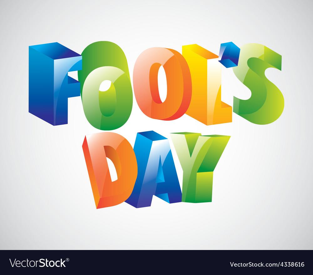 Fools day vector | Price: 1 Credit (USD $1)