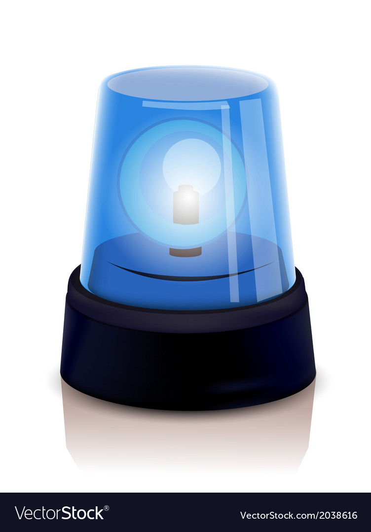 Police beacon vector | Price: 1 Credit (USD $1)