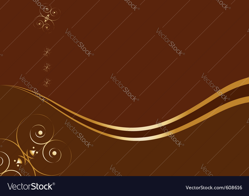 Royal chocolate background vector | Price: 1 Credit (USD $1)