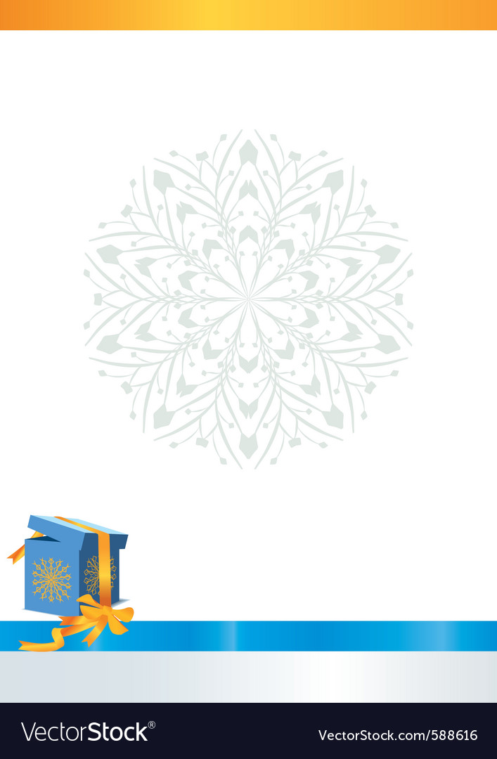 Winter box backdrop vector | Price: 3 Credit (USD $3)