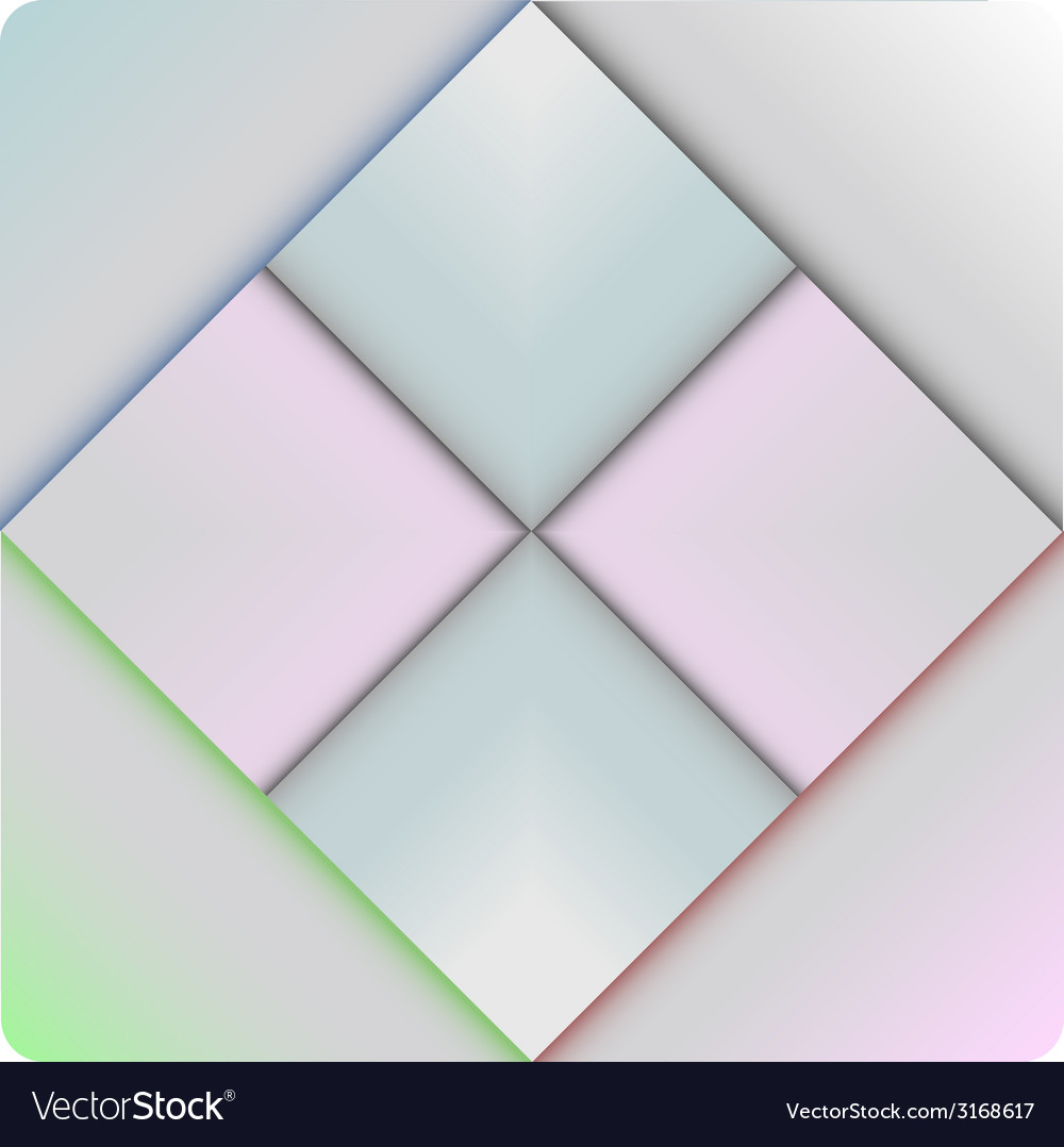 Colorful square blank vector | Price: 1 Credit (USD $1)