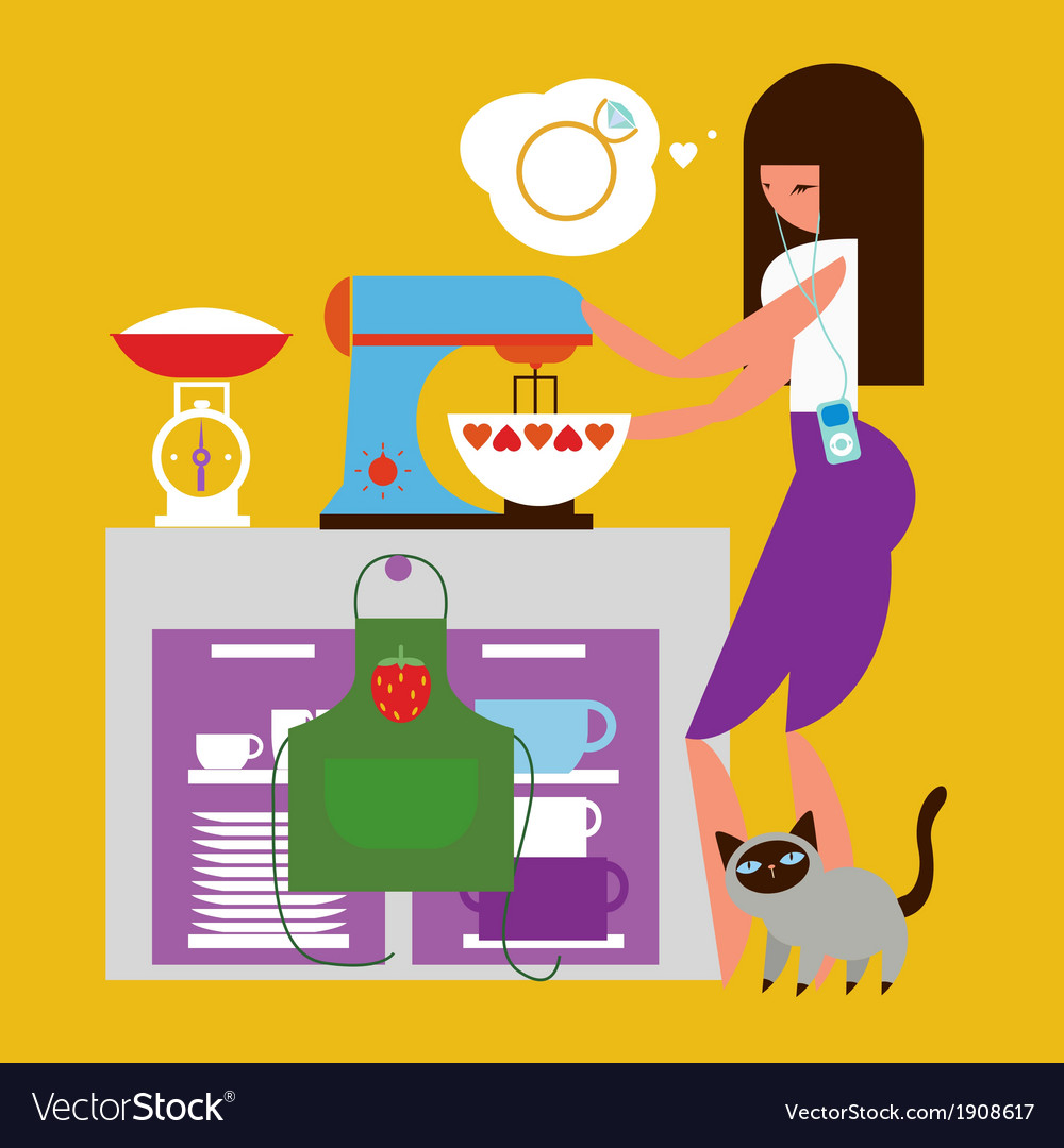 Home baking vector | Price: 3 Credit (USD $3)