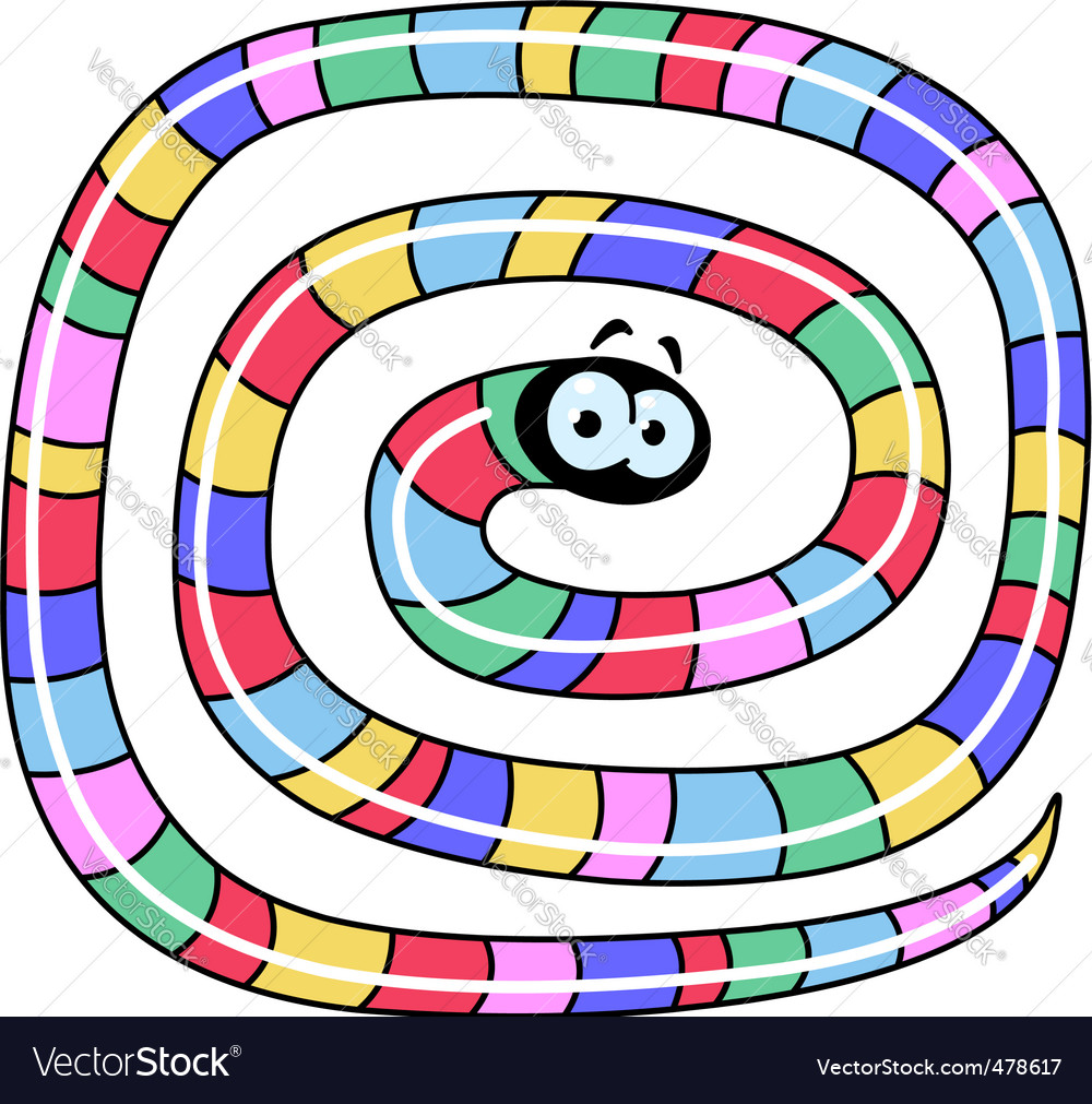 Long worm vector | Price: 1 Credit (USD $1)