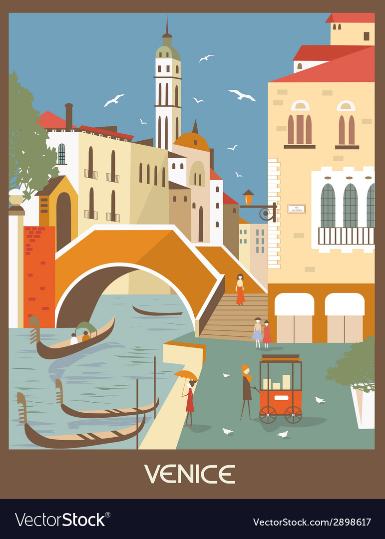 Venice vector | Price: 1 Credit (USD $1)