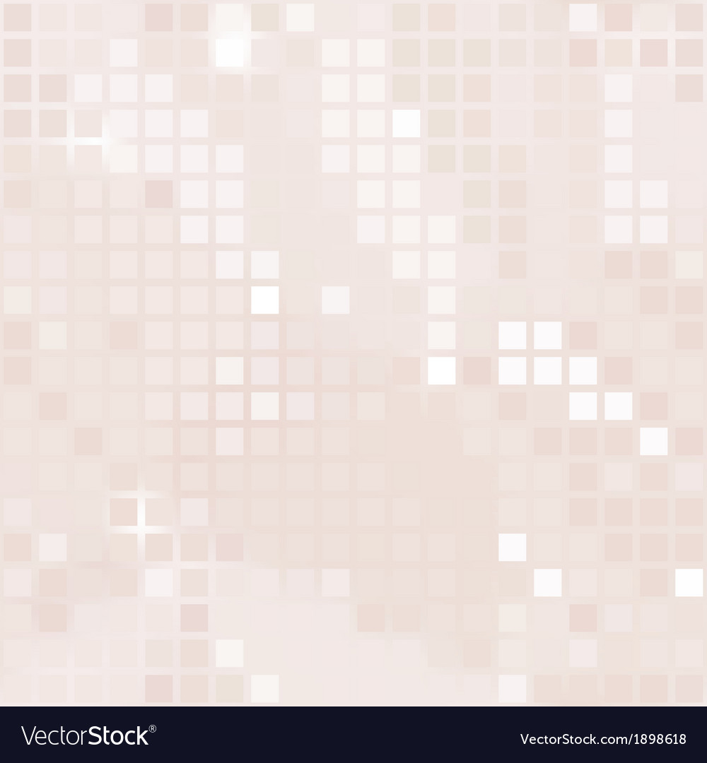 Pale pink background of small squares vector | Price: 1 Credit (USD $1)