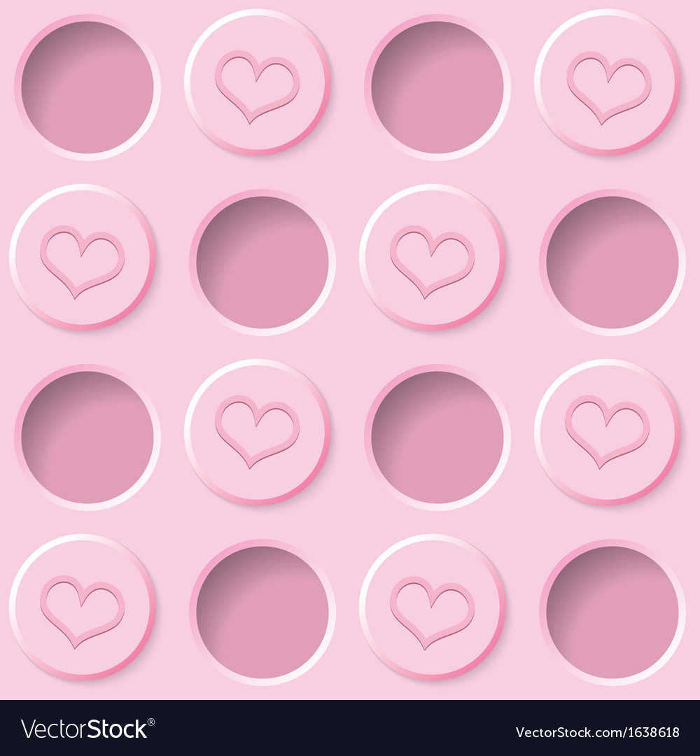 Pastel pink background vector