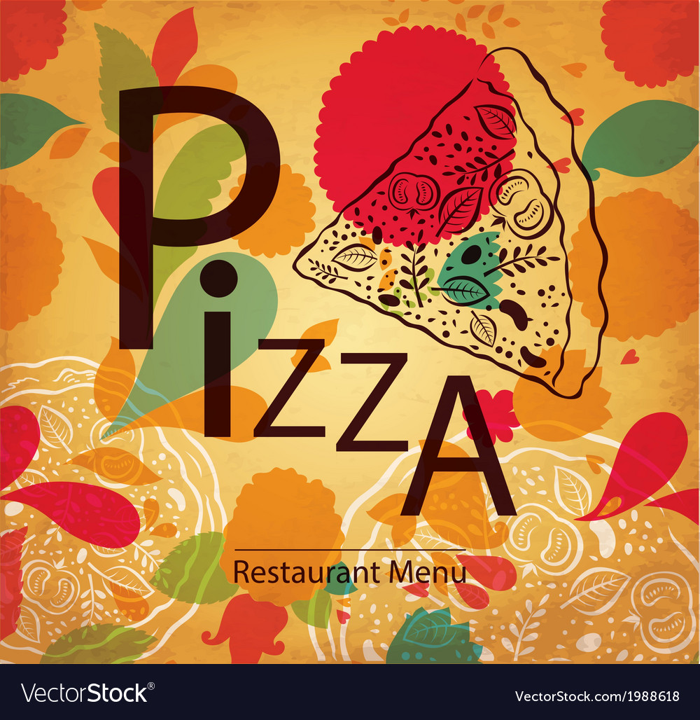 Pizza retail design vector | Price: 1 Credit (USD $1)