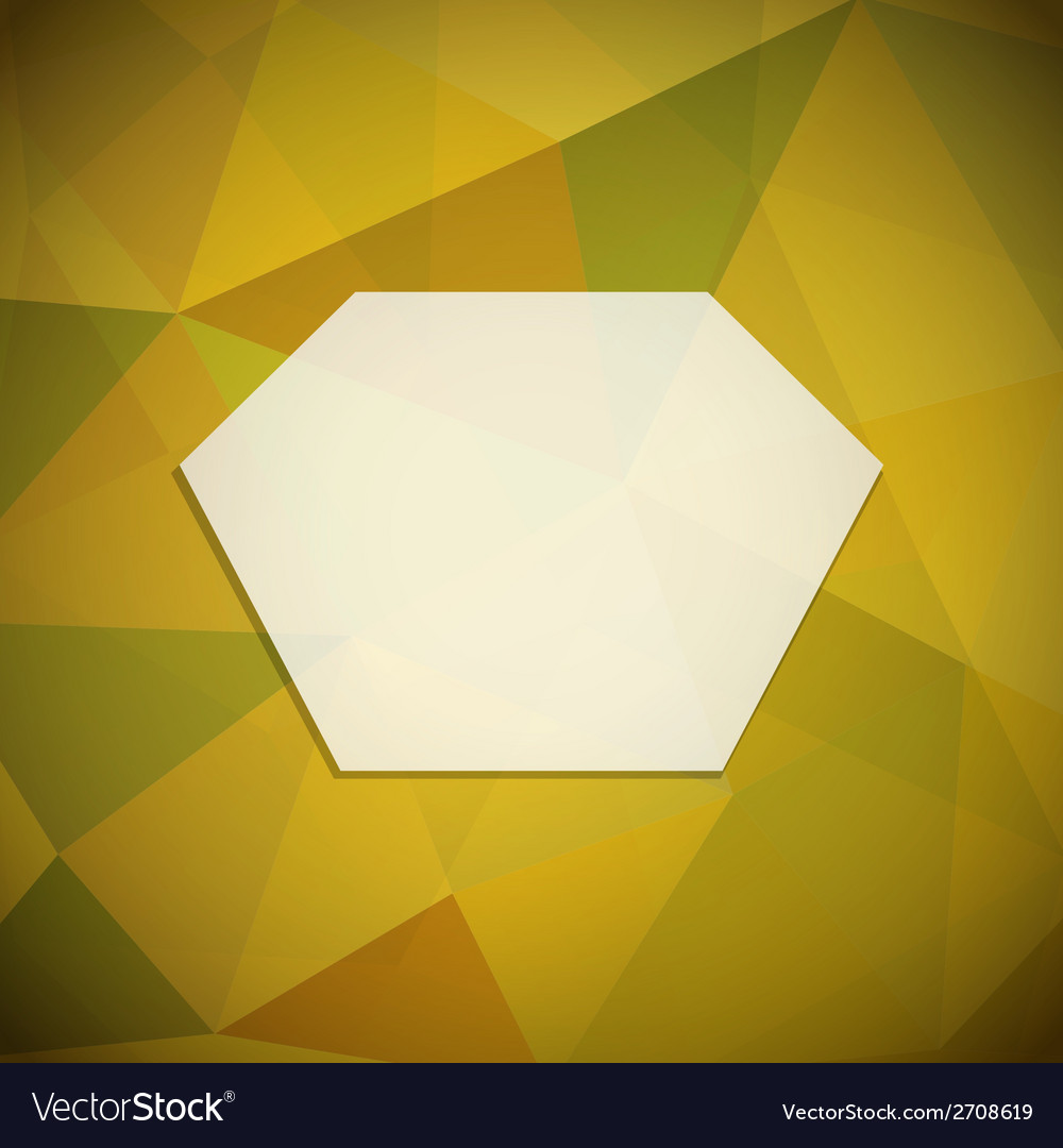 Geometric frame vector | Price: 1 Credit (USD $1)