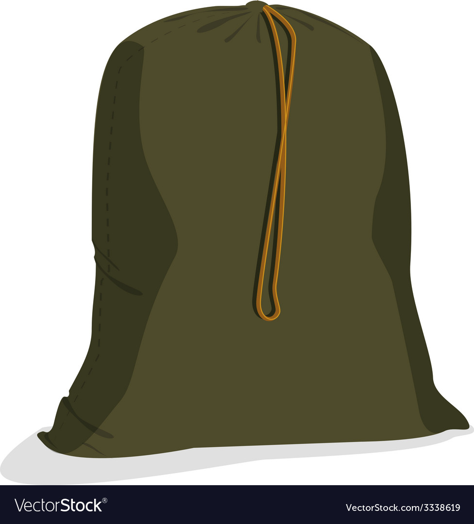 Military sack vector | Price: 1 Credit (USD $1)