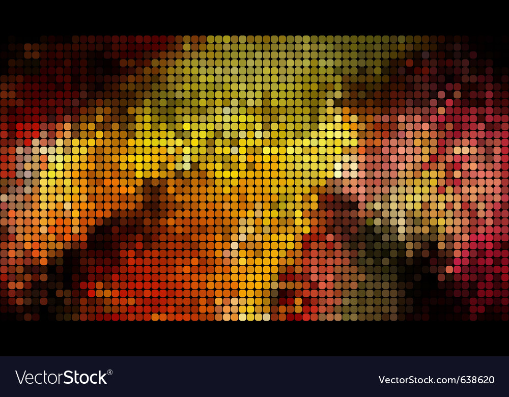 Abstract bright mosaic vector | Price: 1 Credit (USD $1)