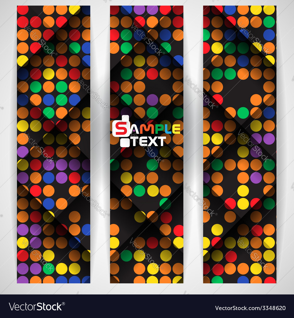 Abstract colorful mosaic pattern design vector   Price: 1 Credit (USD $1)