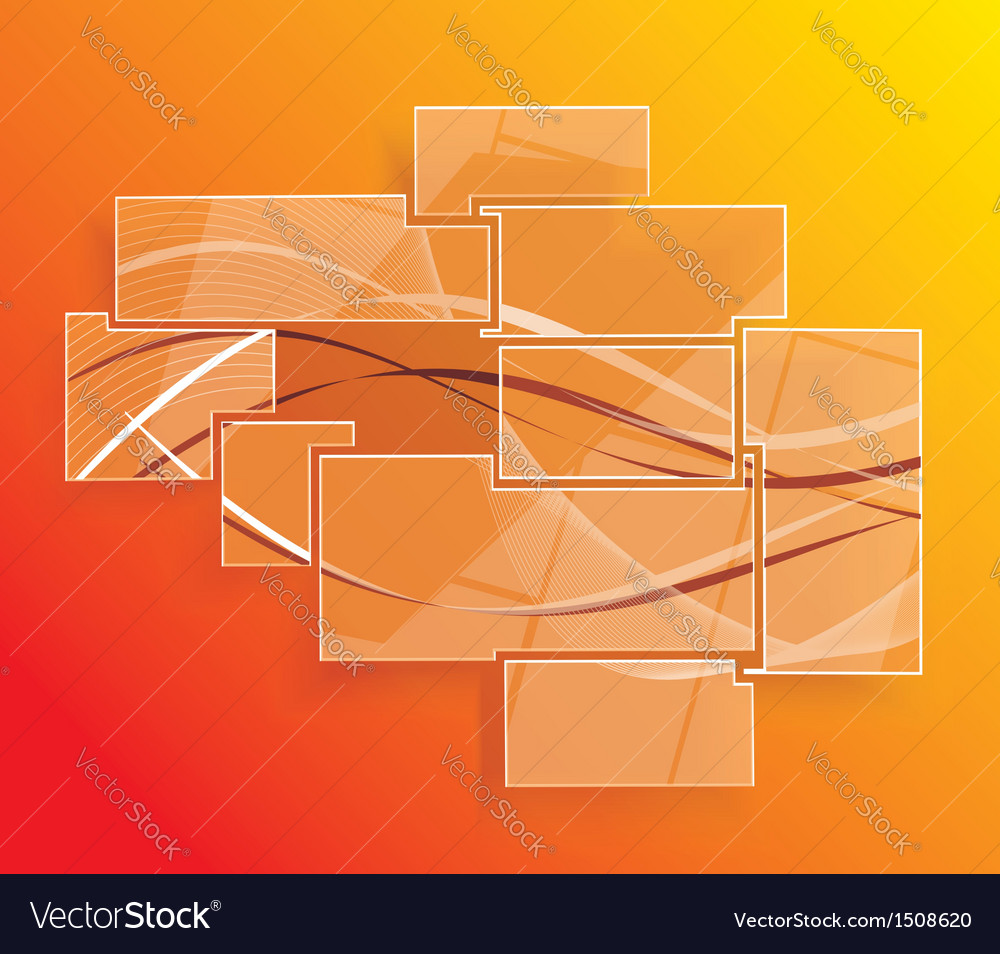 Background orange abstract website pattern vector | Price: 1 Credit (USD $1)