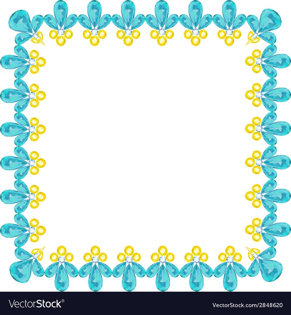 Jewelry frame vector | Price: 1 Credit (USD $1)